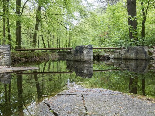 Rijksmonument Waterloopbos